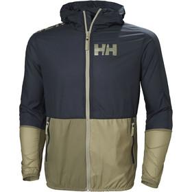 Helly Hansen M's Active Windbreaker Jacket Graphite Blue